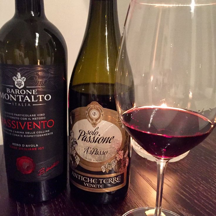 Italian wines produced from dried grapes