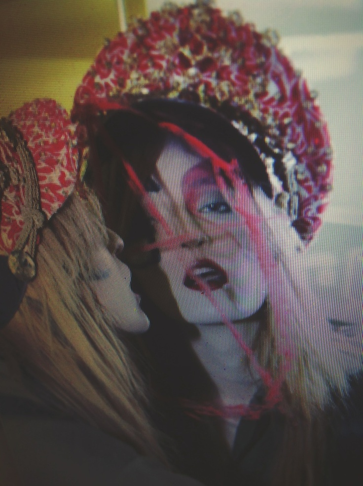 Anarchy and Amyl Nitrate in my fashion film for SHOWstudio JUBILEE
