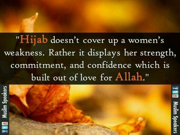 Beliefs and Believers-Belief that women must wear Hijab in the presence of males outside their family.