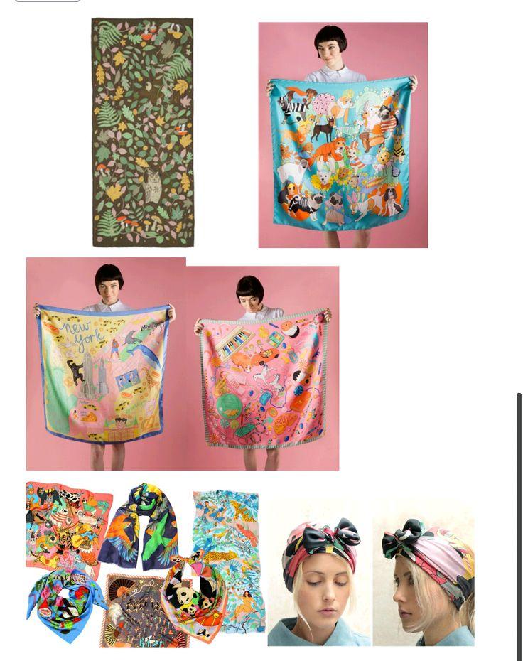 contemporary textile prints designer's work