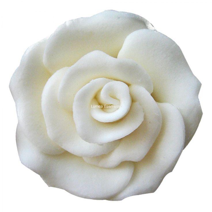Trandafiri mici 42 buc alb