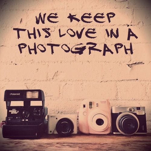 """We keep this photo in a photograph.."""
