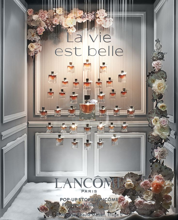 CONTE DE PRINTEMPS À NOËL Lancôme - 150.printemps.com - photos@FrancisPeyrat - 11.2015