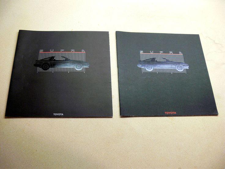 Toyota supra sales brochure lot-toyota car brochure lot-toyota supra brochures-vintage 1986 toyota supra-1987 supra-toyota car brochure lot by BECKSRELICS on Etsy