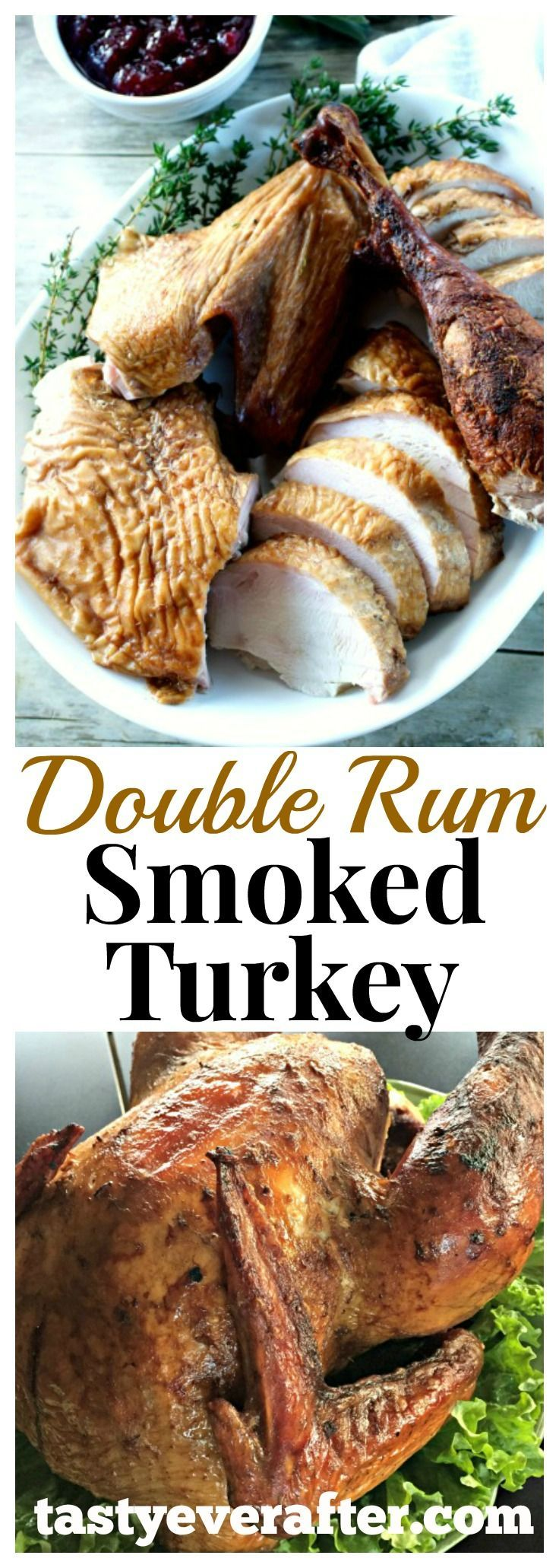 Be different this Thanksgiving and serve up a smoked turkey.  Adapted from a Steven Raichlen Project Smoke recipe.