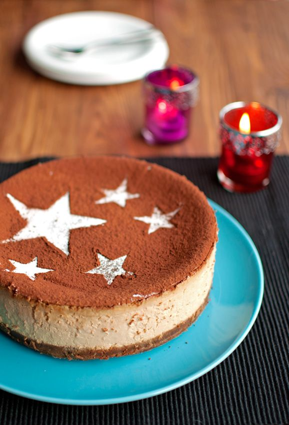 The Tough Cookie | Tiramisu Cheesecake | http://thetoughcookie.com