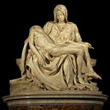 10 esculturas famosas y sus autores: Pietá