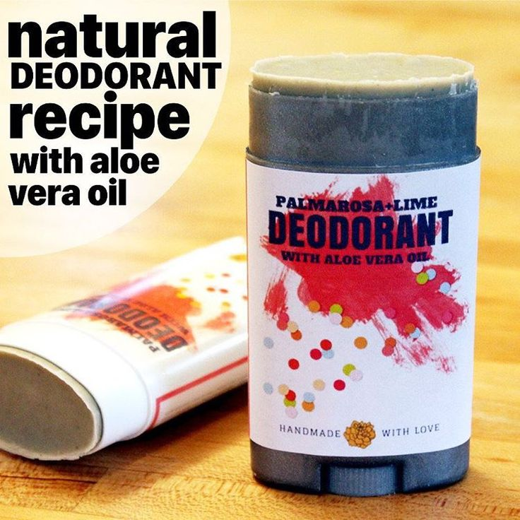 My new palmarosa and lime #deodorant #recipe with #aloe vera really works! Made with arrowroot powder, magnesium hydroxide and bentonite clay, this no baking soda #DIY #natural deodorant won't irritate sensitive skin. Learn #howto make it now at #Soap Deli News #blog at http://soapdelinews.com #diyblog #diylife #diylifestyle #skincare #homemade #essentialoils #tutorial