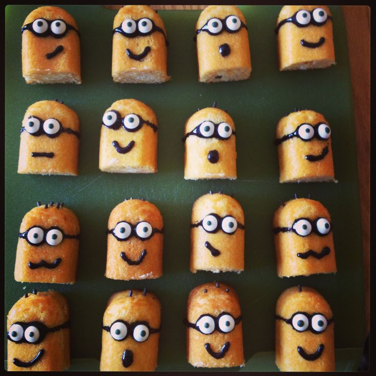 Minion Cupcakes Using Twinkies Super Easy And Cute