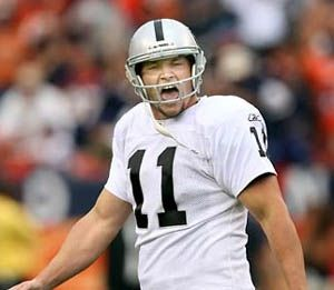 Sebastian Janikowski – K – 2000 – present Janikowski, originally selected in the first round of the 2000 NFL Draft, is the Raiders all-time leading scorer.