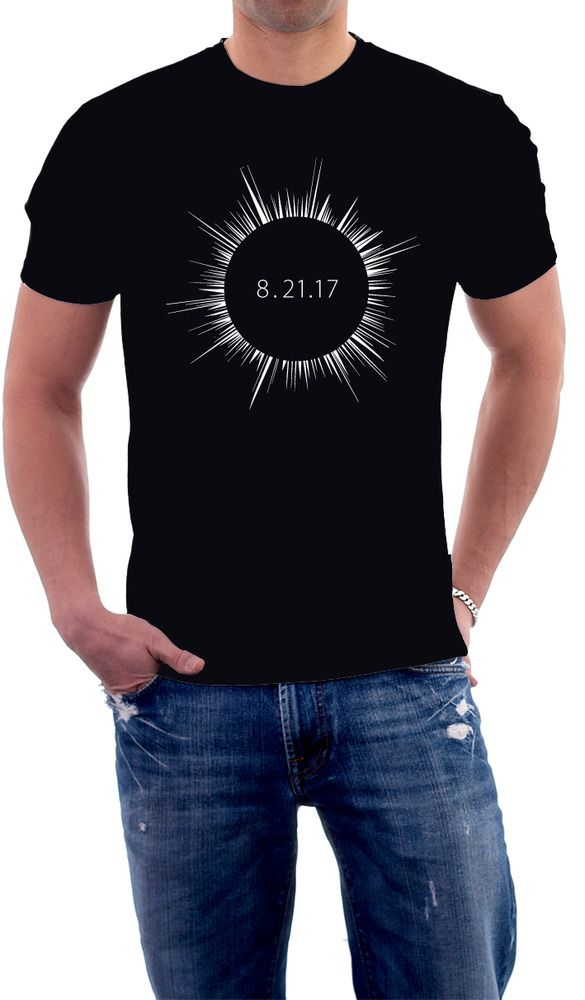 Total Solar Eclipse 2017 T-shirt #AlstyleApparel #BasicTee