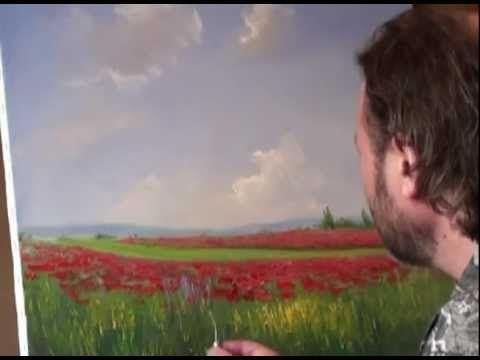 ▶ Обучение живописи. И. Сахаров. Маковое поле - YouTube