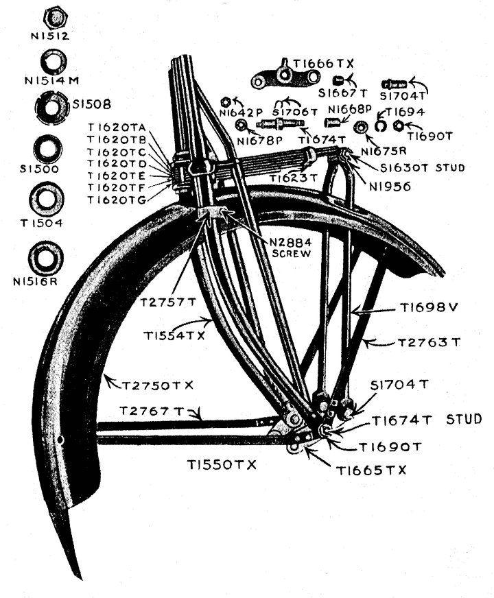 leaf spring bicycle forks