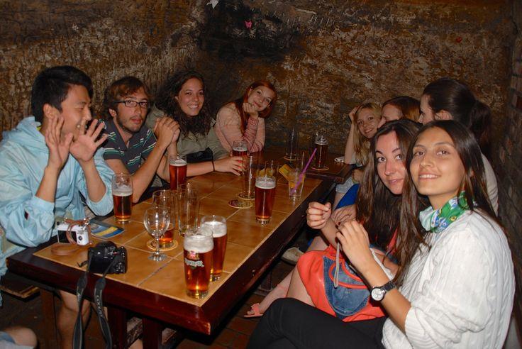 In a Plzeň pub