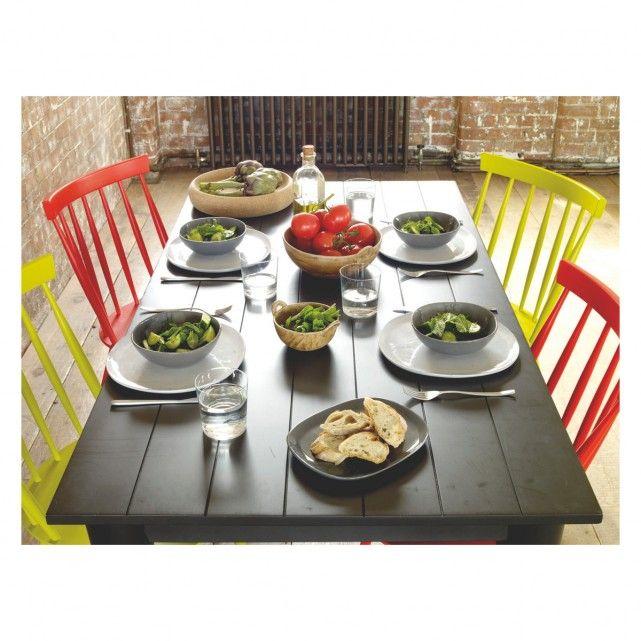 COURBE Light grey side plate D18cm | Buy now at Habitat UK