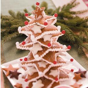 Gingerbread Star Tree #Christmas