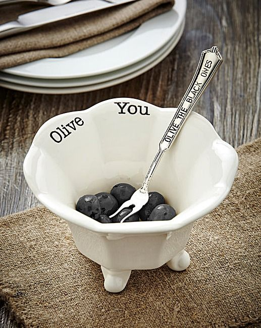 Mud Pie Olive Condiment Set | J D Williams