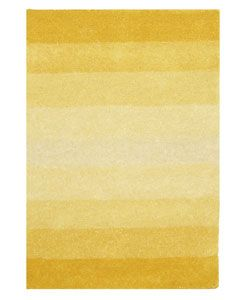 Hand-tufted Yellow Stripe Wool Rug (8' x 10')Dining Rooms, Yellow Stripes, Color Inspiration, Yellow Rugs, Area Rugs, Living Room, Stripes Rugs, Wool Rugs, Stripes Wool