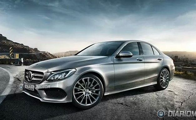 First 2015 Mercedes-Benz C-class Photos!