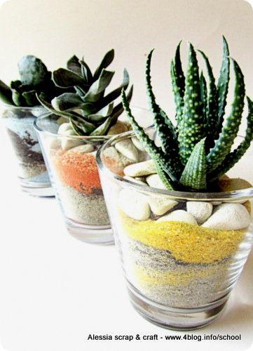 Pi di 25 fantastiche idee su decorazioni da giardino su - Giardini in bottiglia ...