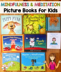 Are you looking for engaging picture books for kids about mindfulness and meditation? These books are true gems and will help your students to easily understand being more mindful, quieting the mind, and practicing meditation.