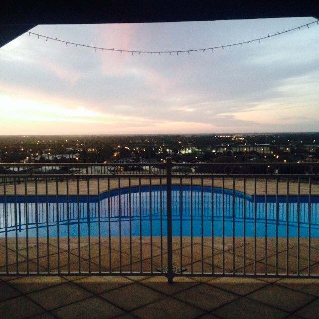 Gawler, South Austalia. Christmas Eve sunset 2014