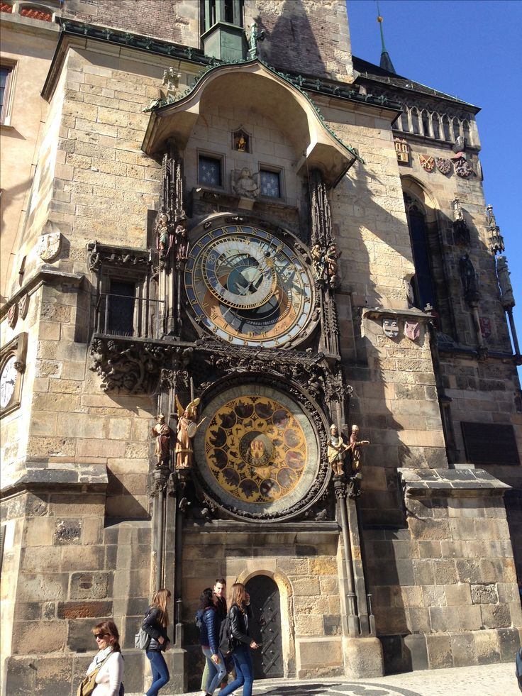 Astronomical Clock in Old Town Square in Prague, Czech Republic