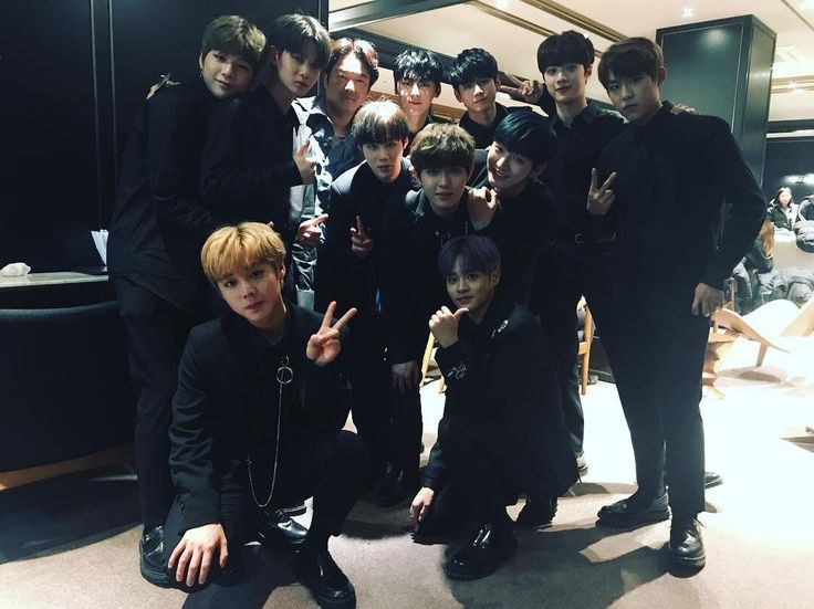 """""""Donaldyong Instagram Update with Wanna One """""""