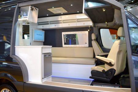 The interior includes white leather and Alcantara trim