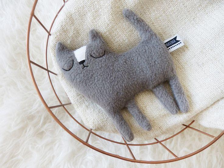 Die kleine Ruth, Körnertier Katze von MASCHAA auf DaWanda.com