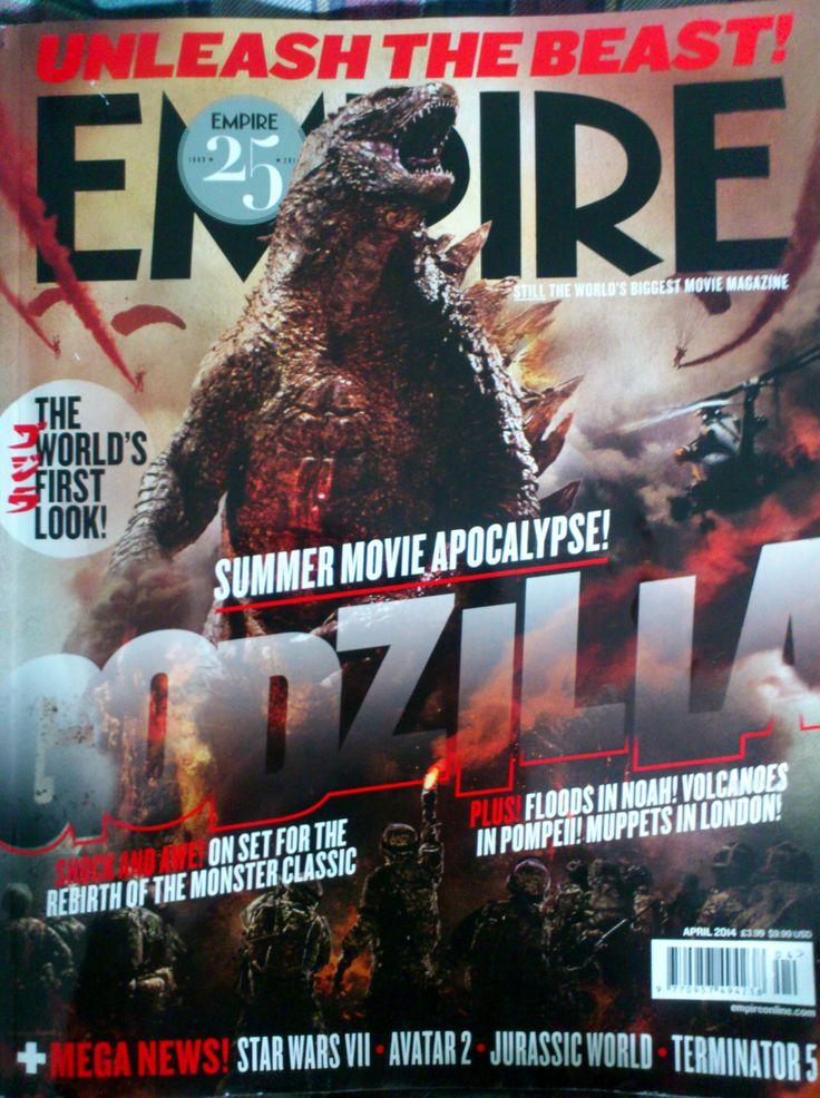 April 2014 Empire Magazine Issue #godzilla