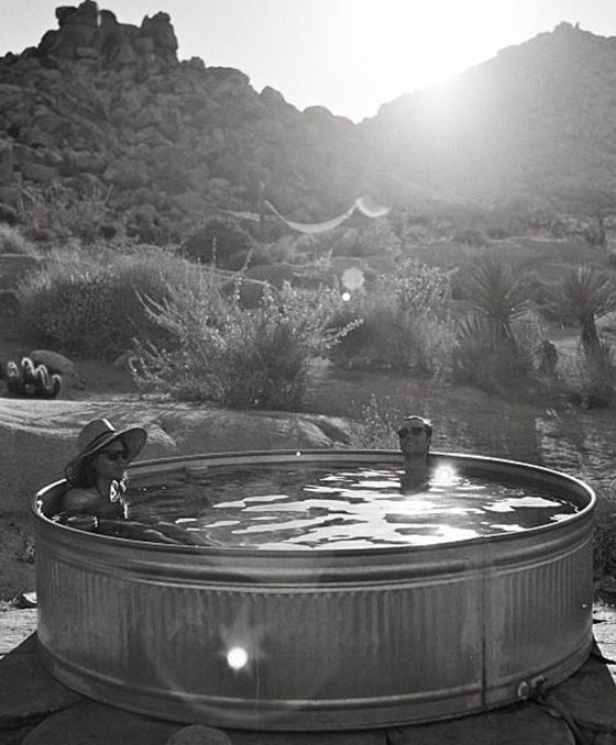 / Pin curated by Pretty Planner Weddings  Events www.prettyplannerweddings.com / STOCK TANK POOLS