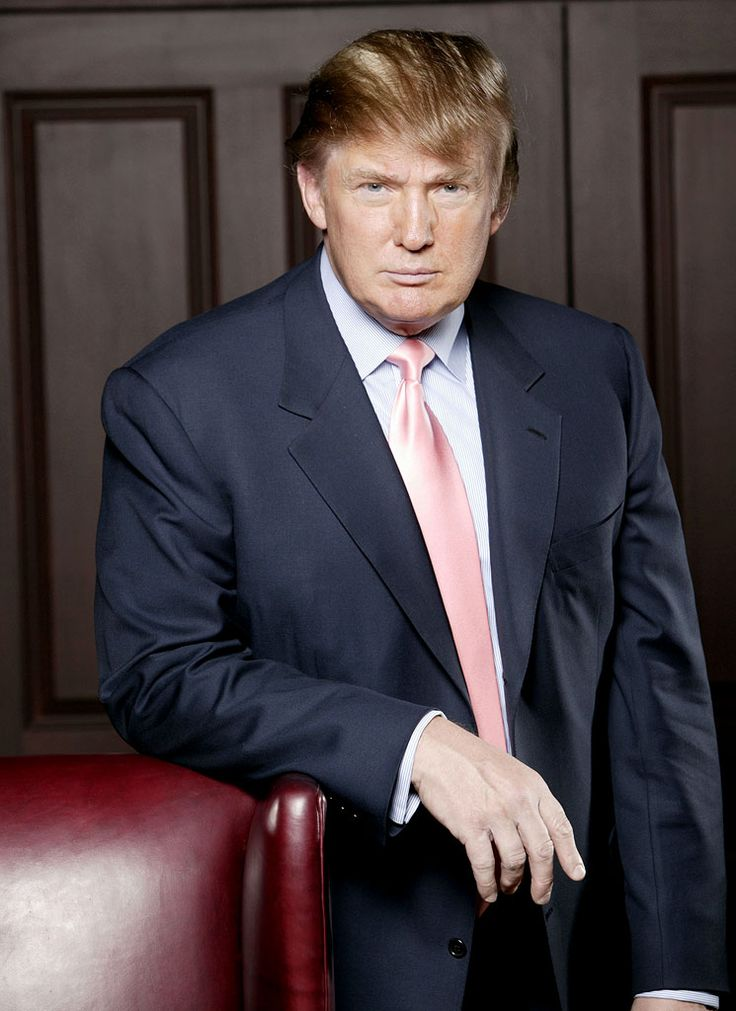 Donald Trump-tells it like it is! (He's also really rich and smart. :O)