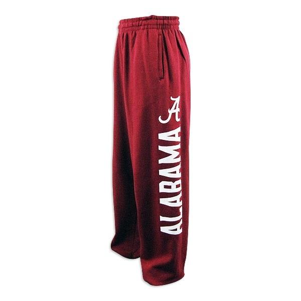 Alabama Crimson Tide Mens Genuine Crimson  Fleece Pant