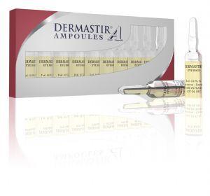 Dermastir Ampoules - Eye Care,  eye bags serum, dark circles, made in France. Buy now on altacare.com
