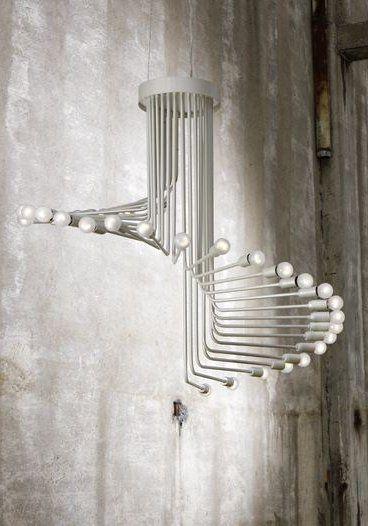Metal pendant #lamp SIXTIES by ITALAMP #design