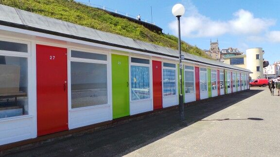 Cromer seafront chalets