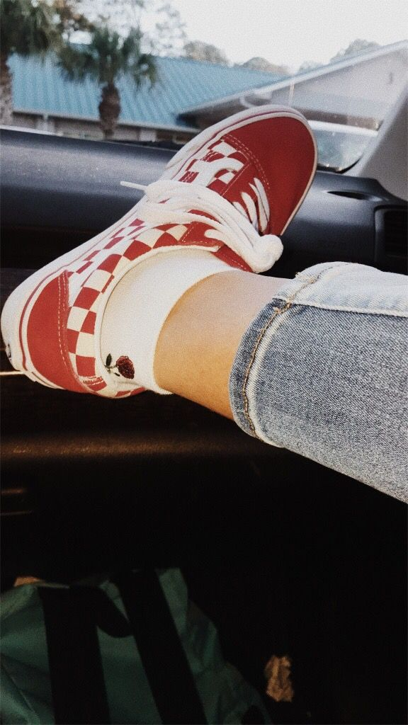 4b393e160e brandy melville rose socks hipster red checkered vans vsco. Find this Pin  and more on My Vsco by Reanna Thompson. Tags. Red Adidas Shoes