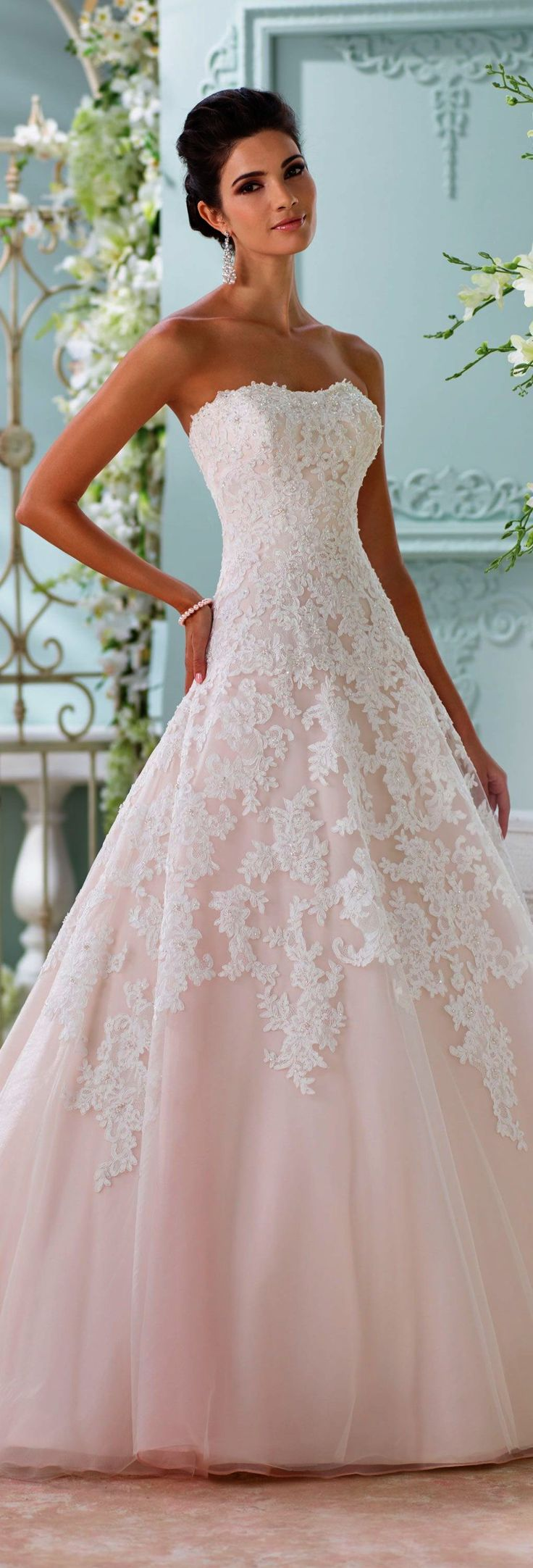 Lace Strapless Wedding Dresses Lace Wedding Dress High Neck Low Back