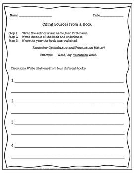 Reference Materials - Mrs. Warner's Learning Community