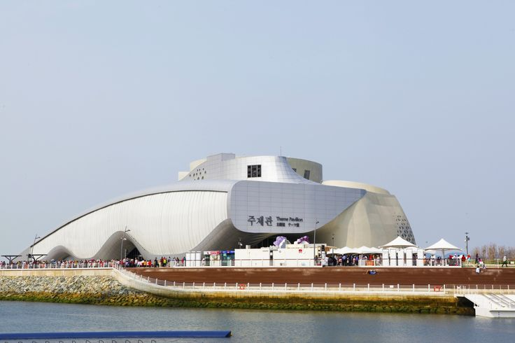 Exhibition Theme Pavillion Yeosu, South Korea UltraPly TPO Fully Adhered System (FAS) 4.000 m²