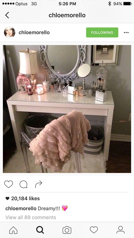 8 Best Makeup Station Inspiration Images On Pinterest | Makeup Tables,  Dressing Tables And Hairdresser