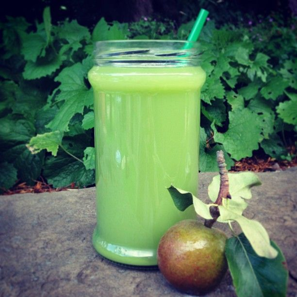 Green apples, cucumber, celery, lemon and ginger