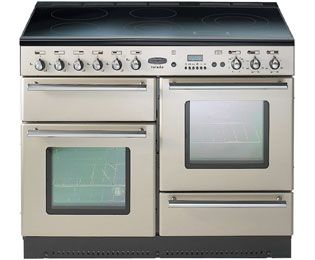 Rangemaster Toledo 110 Induction TOLS110EICP Electric Range Cooker Freestanding Champagne