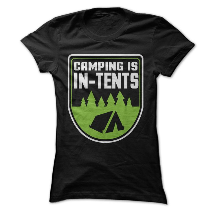 You love camping and you also love silly puns. Imagine what fun it would be if you could put those two together? We did and we came up with this cute, clever tee. It features a bright graphic as big a
