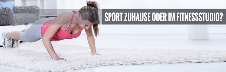 #Sport zu Hause, im #Fitnessstudio oder draußen? Alle Vor- und Nachteile