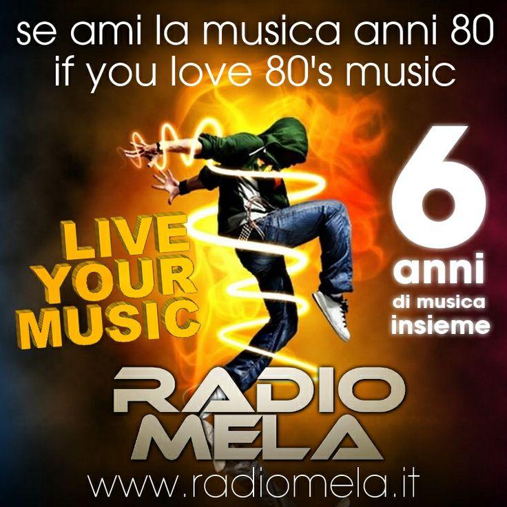 Se AMI la musica dance degli anni 80 , non puoi non ascoltare #RadioMela su http://www.radiomela.it/  #radio #8090lovers #vintageradio #music