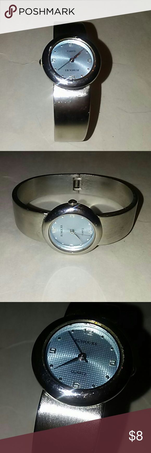 Rumours bracelet watch. Excellent condition. SZ MS .silver tone. Rumours  Accessories Watches