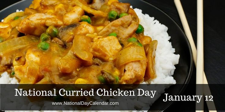 January 12, 2017 – KISS A GINGER DAY – NATIONAL CURRIED CHICKEN DAY – NATIONAL MARZIPAN DAY – NATIONAL PHARMACIST DAY