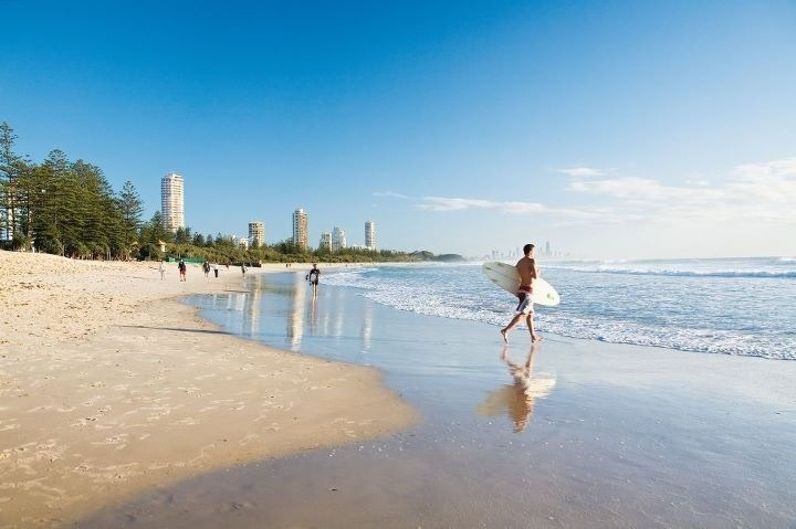 Burleigh Head, Queensland Ajay & I live right across the road from here :-)